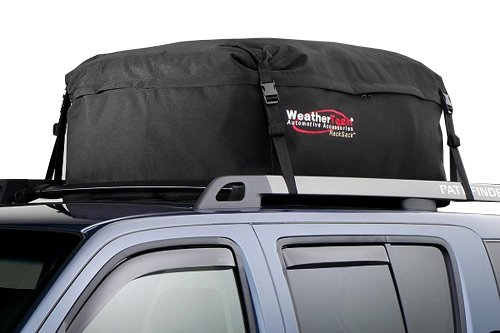 WEIPA Car Roof Bag & Rooftop Cargo Carrier - 15 Cubic Feet Heavy Duty Bag, 100% Waterproof Excellent Military Quality Roof-Top Car Bag - Fits All Cars (60 RE)