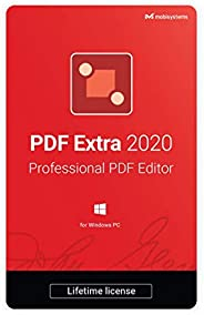 PDF Extra 2020 - Professional PDF Editor – Edit, Protect, Annotate, Fill and Sign PDFs - 1 PC/ 1 User / Lifeti