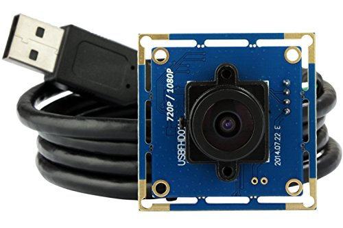 ELP USB with Camera 2.1mm Lens 1080p Hd Free Driver USB Camera Module ,2.0 Megapixel(1080p) Usb Camera,for Linux Windows Android Mac - Lenses With Frames Free