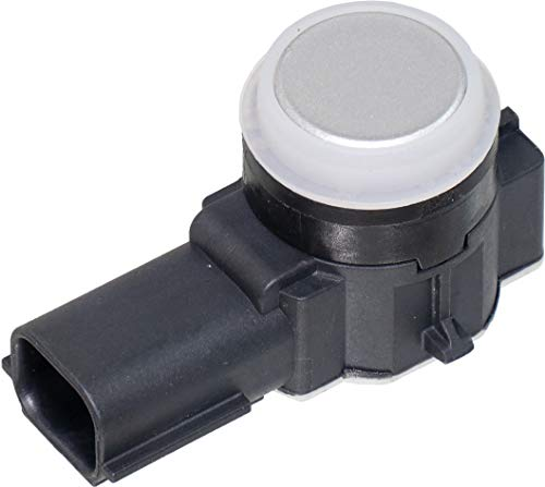 APDTY 795159-Silver Painted Parking Aid Assist Backup Reverse PDC Sensor Fits All Positions In Front or Rear Bumper On Select 2014-2019 GM Vehicles (See Description; Replaces 23428268, 52050134)