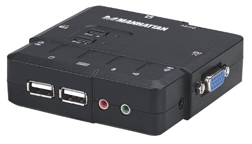 Manhattan 2-Port Compact KVM Switch (151252)