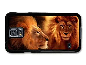 Two Lions Illustration King of the Jungle case for Samsung Galaxy S5