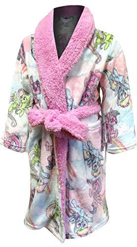 (My Little Pony Girls' All Ponies Robe Pajamas (8) )