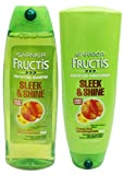 Garnier Fructis Shampoo & Conditioner Set Sleek & Shine
