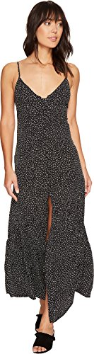 Flynn Skye Women's Unbutton Me Fresh Dress Black Orbit Dress