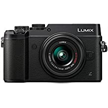 Panasonic Lumix DMC-GX8KEG-K Digital Camera with 14-42mm Lumix G Vario Lens (Black) (International Model) No Warranty