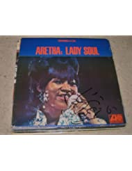 "* ARETHA FRANKLIN * signed classic ""Lady Soul"" album cover / UACC RD # 212"