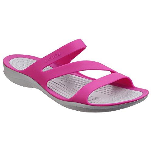 Crocs Damen Swiftwater Sandali Nero / Bianco