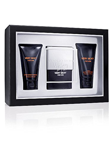 Victoria's Secret Give Him VERY SEXY For Him Cologne Perfume Gift Set 3 Pieces