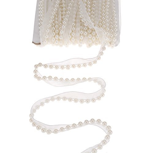 Pearl Beaded Applique - 8
