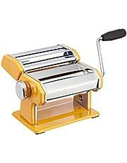 Kitchencraft World of Flavours máquina de pasta eléctrica de acero inoxidable–amarillo
