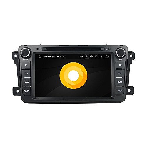 (Belsee Aftermarket Android 8.0 Auto Head Unit Stereo Navigation System for Mazda CX-9 CX9 CX 9 2008-2015 8 inch Touch Dual IPS Screen Radio Car Video Audio 4K Player Octa Core PX5 Ram 4GB Rom 32GB)