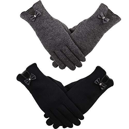 2 Pairs Women Winter Gloves...