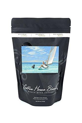 Hopper Edward Ground Swell Art - Ground Swell - Masterpiece Classic - Artist: Edward Hopper c. 1939 (8oz Whole Bean Small Batch Artisan Coffee - Bold & Strong Medium Dark Roast w/ Artwork)