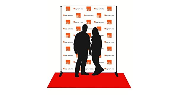 8x6 Step and Repeat Banner /& Stand