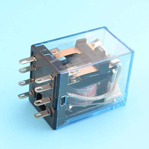 BIN BON - General purpose relay MY2 DPDT 8 pins MY2NJ relais 12v 24v 110v 220v relay switch