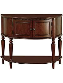 coaster storage entry way console tablehall - Tall Console Table