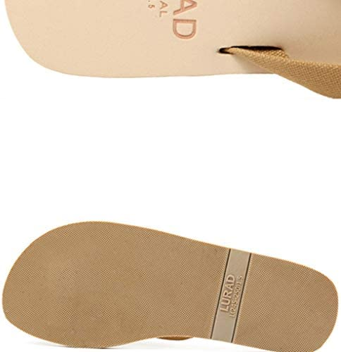 メンズ ビーチサンダル サマー レジャー 無味 エコ 歩きやすい 快適 安全 無毒 介護 軽量 柔らかい 室内履き 耐摩耗性 北欧 ビーチシューズ プレゼント ブラウン ブラック 25-27cm