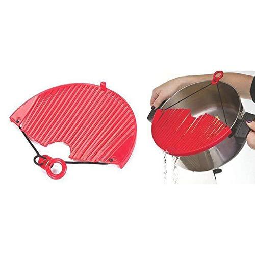 Escurridor de alimentos vegetal escurridor de cocina Para equipo esencial  de cocina buen ayudante de cocina herramienta de cocina multiusos   Amazon.es  ... d6d4f3c656c1