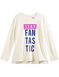 d193f9dee Graphic-Print T-Shirt Big Girls 'Stay Fantastic' Ivory Shirt · Epic Threads