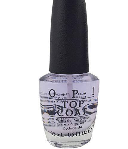 Top Coat 0.5 oz Nail Polish NT 30 Prevents Smudges, High Gloss, Protective Shine