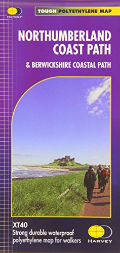 Coastal Path - Northumberland Coast Path: & Berwickshire Coastal Path XT40