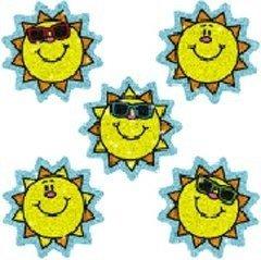 CD-2929 - DAZZLE STICKERS SUNS 75-PK ACID -