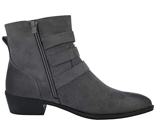 Mujer Suede Footwear faux Botines Grey Foster agxHAx