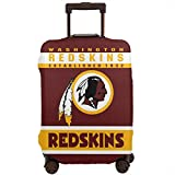 MamaTina Design Colorful Travel Suitcase Protector Washington Redskins Football Team Travel Luggage Cover Protective Washable Elastic Suitcase Cover Fits 18-32 Inch