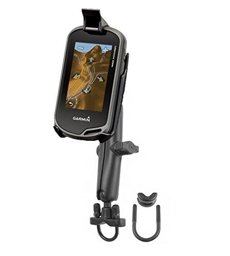 Long Arm Bike Motorcycle Mount Holder fits Garmin Approach G5 Oregon 200 300 400 450 550 600 & 650