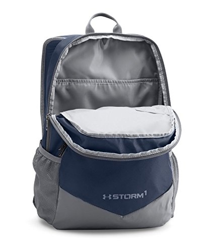 c551284d6d Under Armour Boys Storm Scrimmage Backpack Black (001) Silver One Size  Under Armour Bags 1277422