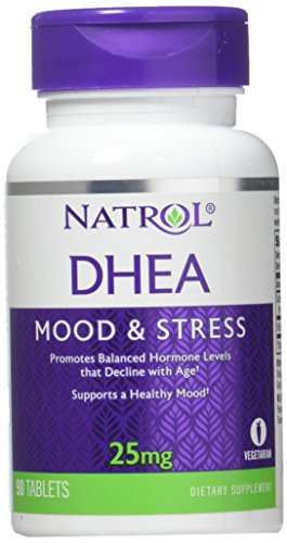 Natrol DHEA 25mg Tablets, 90 Count