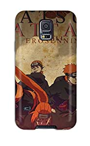 For Happy Snowman Galaxy Protective Case, High Quality For Galaxy S5 Pain Naruto Skin Case Cover