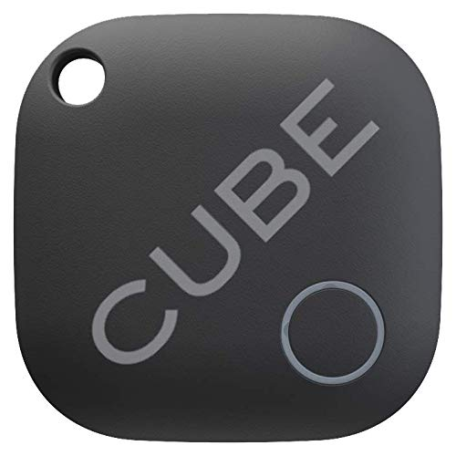 Cube Key Finder Smart Tracker Bluetooth GPS Tracker for Dogs, Kids, Cats, Luggage, Wallet, with app for Phone, Replaceable Battery Waterproof Tracking Device ()