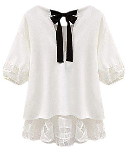 confit you - Camisas - Opaco - para mujer Weiß