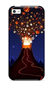 Chris Mowry Miller's Shop New Christmas Volcano Tpu Case Cover, Anti-scratch Phone Case For Iphone 5c 5560232K28031416