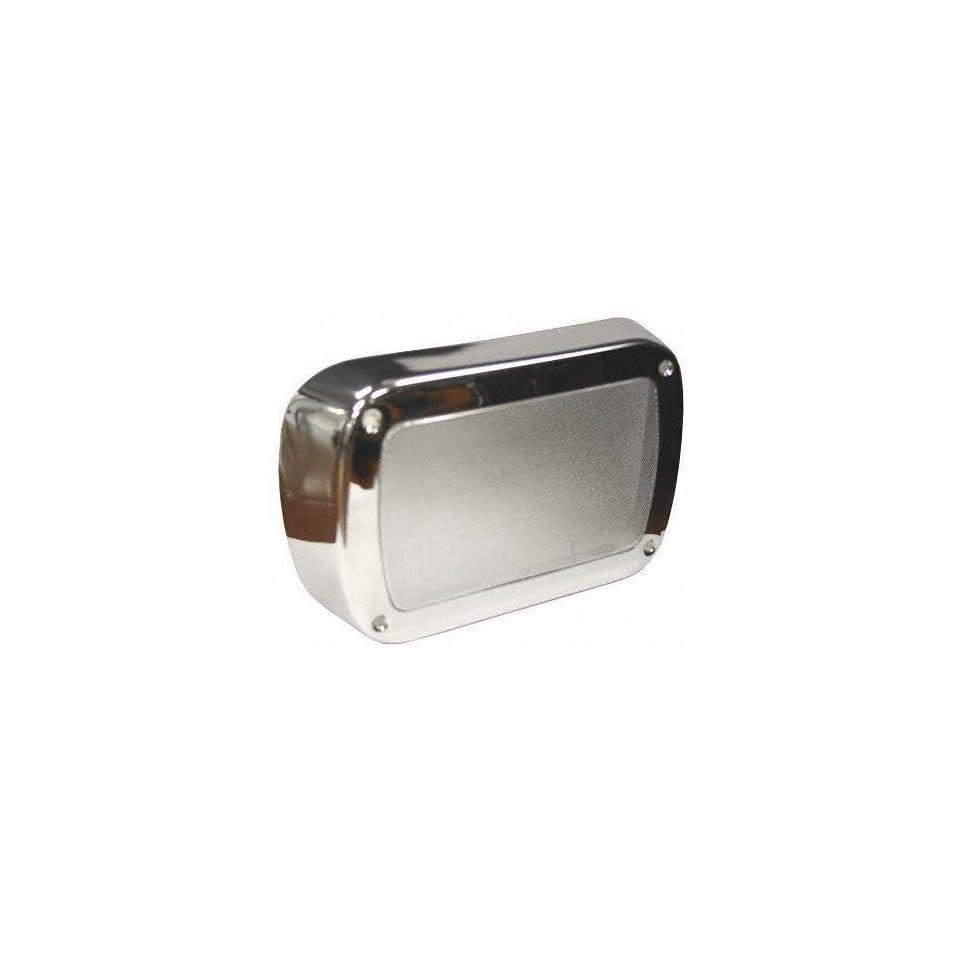 55 59 CHEVY CHEVROLET FULL SIZE PICKUP fullsize RADIO TRUCK, Speaker Chrome Cover (1955 55 1956 56 1957 57 1958 58 1959 59) C00503103