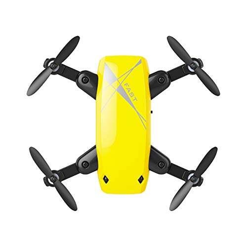 Drone, Folding Mini Four-axis Aircraft, Given The high WiFi Image Transmission Aerial Remote Control Airplane, Children's Toy Aircraft ()