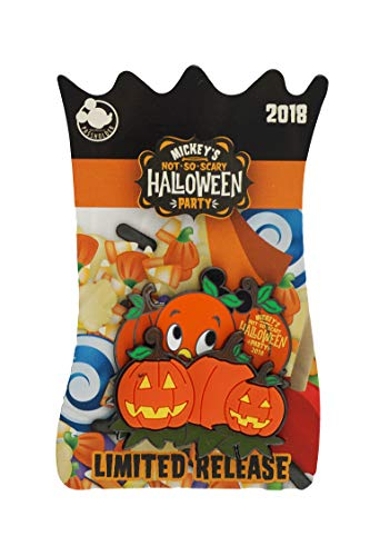 WDW Trading Pin - Mickey's Not So Scary Halloween Party - 2018 Passholder - Orange Bird