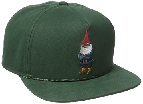 [Coal Men's the Lore Snapback Cap, Forest Green/Gnome, One Size] (Gnome Hats)