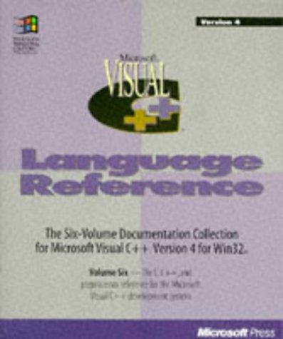 Microsoft Visual C++: Language Reference