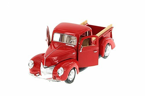 1940 Ford Pick-up Truck, Red - Showcasts 73234 - 1/24 Scale Diecast Model Toy Car