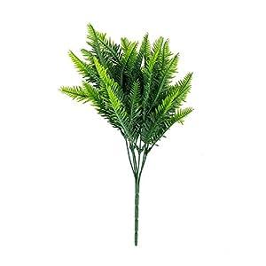 FYYDNZA Batch Plastic Green Artificial Cycas Plant False Grass Wedding Flower Arrangement Diy Decoration 36Cm 33