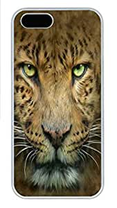 IPhone 5/5S Case Big Face Manny PC Hard Plastic Case for iPhone 5/5S Whtie
