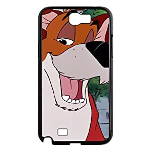 Samsung Galaxy N2 7100 Cell Phone Case Black Disney Oliver & Company Character Dodger 002 WH9458406