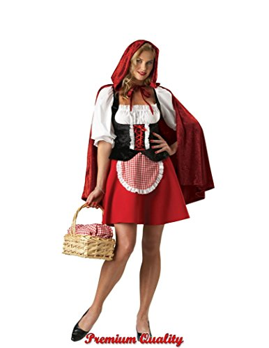 InCharacter Costumes Women's Red Riding Hood Plus Size Costume, -