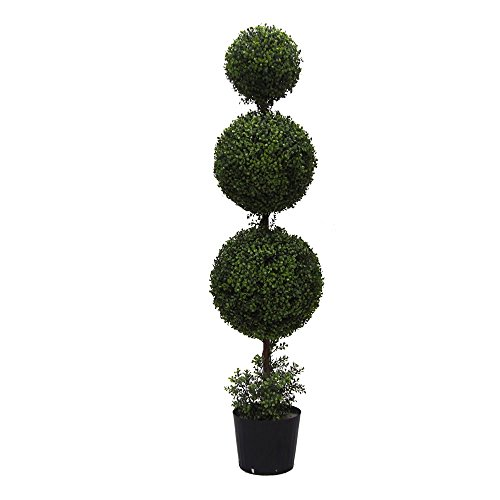 Vickerman TP170760 Everyday Boxwood Topiary by Vickerman