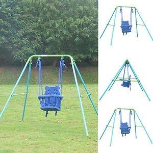 Amazon Com Boy Girl Toddler Indoor Outdoor Garden Play Swing Set