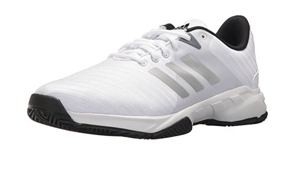 adidas Mens CM7817 Barricade Court 3 Wide White Size: 8 US