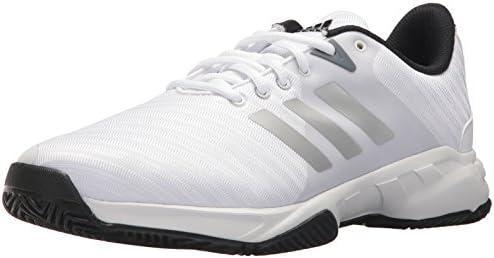 ad9c6949437a23 Buy Adidas Men's Barricade Court 3 Footwear White/Matte Silver - 9W ...